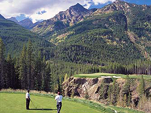"""The Cliffhanger at Greywolf Golf Course  <span class=""""picturesource"""">Panorama Mountain Village</span>"""