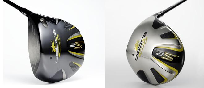The Cobra S2, left, and Cobra S2 Offset.