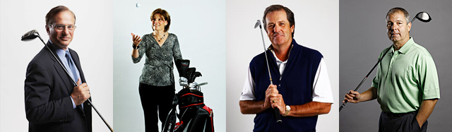 EQUIPMENT COMPANY CEOs: (from left to right) George Fellows, Cindy Davis, Greg Hopkins and Mark King