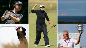 Sunday had everything…dramatic golf, likable champions and even a floating tanker.