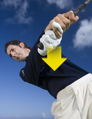 Hit ultra-accurate short-game shots by squaring your clubface with your body, not your hands.