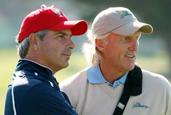 Captains Fred Couples and Greg Norman chose their day one parings on the eve of the event's start.