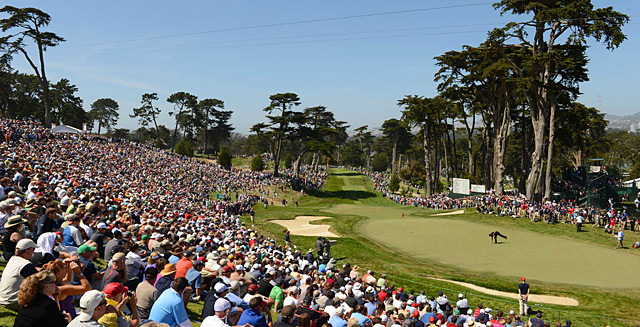 Olympic featured only one fairway bunker, no water hazards, and rough that produced mostly manageable lies.