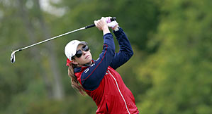 Paula Creamer during a practice round on Thursday.