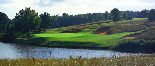 The Golf Club at Cuscowilla was designed by Bill Coore and Ben Crenshaw.
