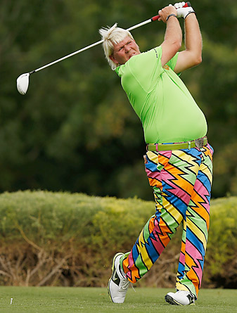 John Daly shot a 63 to get within four shots of the leaders.