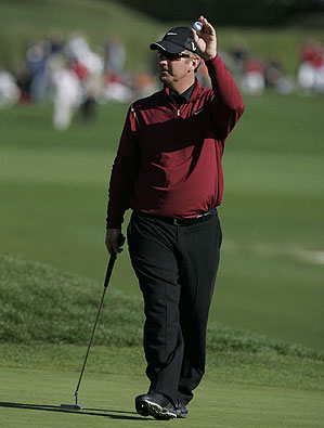 David Duval finished in a tie for second at the AT&T Pebble Beach.