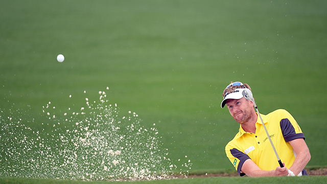 David Lynn held the clubhouse lead for a while on Thursday after firing a 68 in the morning.