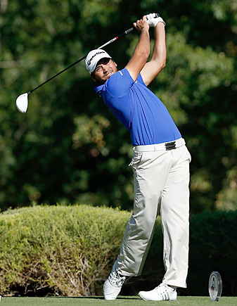 Jason Day and the PGA Tour team beat teams from the LPGA and Champions tours.