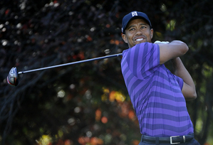 Tiger Woods made eight birdies and one bogey on Thursday.