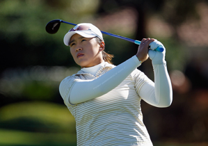 Amy Yang made five birdies and three bogeys on Friday.
