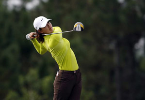 Michelle Wie shot a 7-under 65 on Friday.