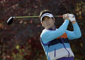 Y.E. Yang shot a seven-under 65.