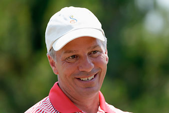 Golf-course architect Tom Doak during the 2013 U.S. Women's Open at Sebonack Golf Club, the Southampton, N.Y., course he co-designed with Jack Nicklaus.