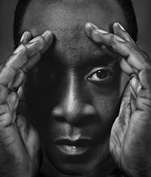 Don Cheadle, 45, is a producer, author and Academy Award-nominated actor.