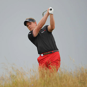 Donald tied for fifth at last month's British Open.