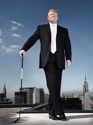 Donald Trump, 64, is chairman and               CEO of the Trump Organization and               Trump Entertainment Resorts.