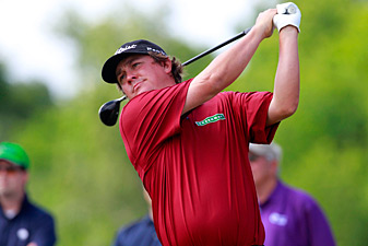 Jason Dufner made five birdies and an eagle.
