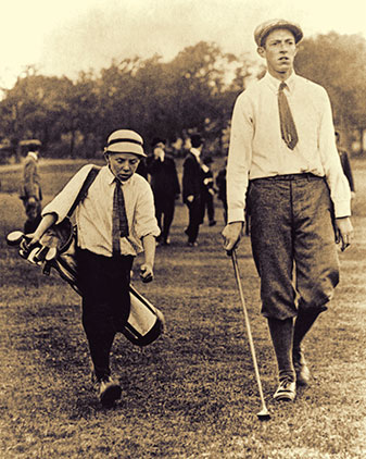 Lowery was on the bag for Ouimet's historic Open win, but that was only the beginning of a fabulous career in golf.