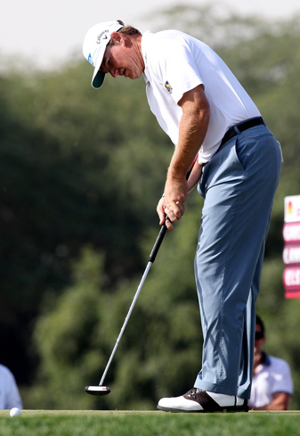 Ernie Els won the British Open last year with an anchored putting stroke.