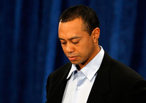 Tiger Woods said he does not know when he will return to golf.