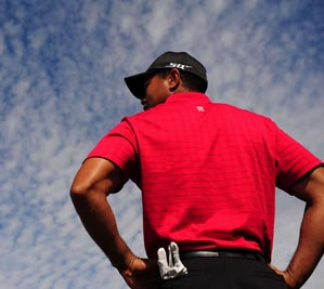 Woods is heavily favored to win every time he tees it up.