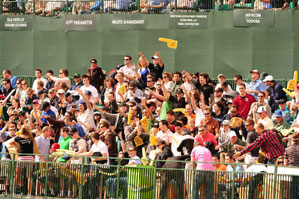 Every year, fans at the par-3 16th at TPC Scottsdale throw one of the biggest parties on the PGA Tour.