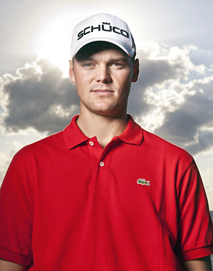 """""""You have to enjoy life off the course,"""" says Kaymer, """"to be happy on the course."""""""
