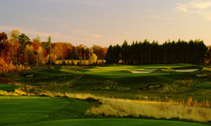 Stricker Country: the 5th hole at Horseshoe Bay Farms in Egg Harbor, Wis.