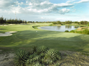 The Ocean Dunes Golf Course along the Ho Chi Minh Golf Trail.