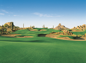 At Troon North, kicking back after your round is just as much fun as the golf.