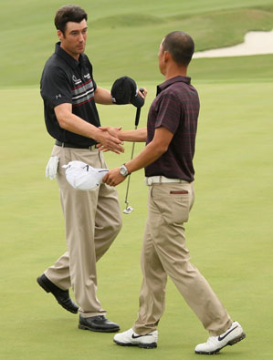 Ross Fisher beat Anthony Kim 4 and 3 on Sunday.