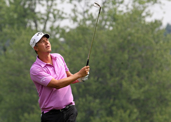 Fredrik Jacobson made an eagle, four birdies and two bogeys.
