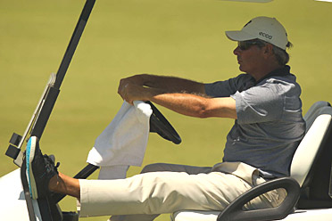 Fred Couples and his golf sneakers have been dominant on the senior circuit this season, but will his success carry over to Augusta?