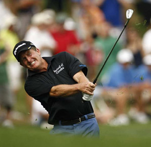 Fred Funk's 20-under total was a record.