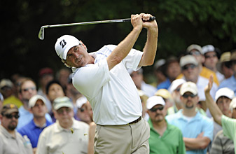 Fred Couples leads after rounds of 66-63.
