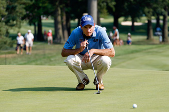 Jim Furyk shot the lowest 36-hole total of his career.