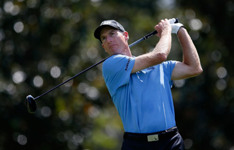 Jim Furyk made nine birdies and three bogeys.
