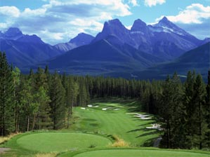 "The dollar is weak but Banff golf is strong. <span class=""picturesource"">Evan Schiller</span>"