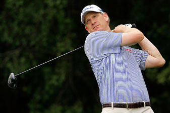Journeyman Tom Gillis will be in the final group Sunday.