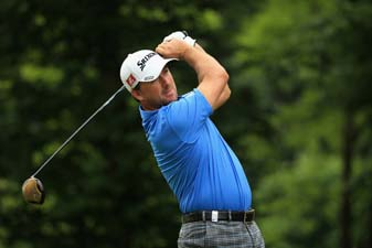 Graeme McDowell during the second round of the Alstom Open de France at Le Golf National on Friday in Paris.