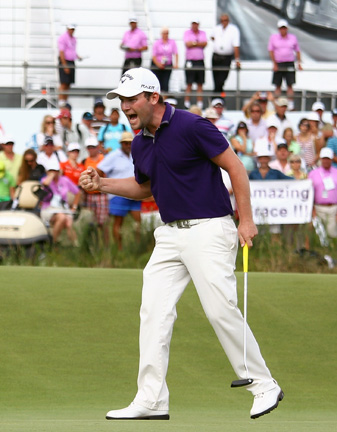 Branden Grace's back-to-back European Tour victories have people talking.