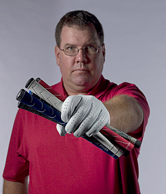 """""""Relying on standard grip-fitting procedures -- or even your personal preferences -- will inhibit your ability to hit your best shots."""" - Top 100 Teacher Eric Alpenfels"""