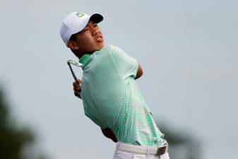 Guan Tianlang, 14, has made the cut at the Masters and the Zurich Classic.