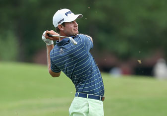 Harris English shot a 6-under 64 on Friday to open a two-stroke lead in the St. Jude Classic.