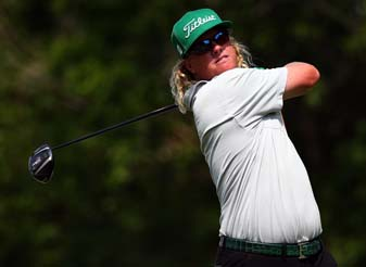 Charley Hoffman [seen here at the Byron Nelson Championship] posted the day's worst score at Memorial on Sunday, an 81, and then shot 68 Monday to qualify for the U.S. Open.