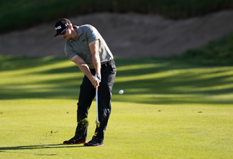 Hunter Mahan made eight birdies and no bogeys on Thursday.