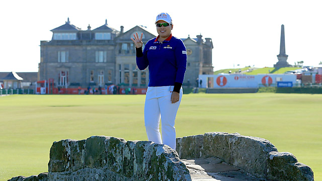 Inbee Park will try to win her fourth major in a row this week at the Women's British Open at St. Andrews.
