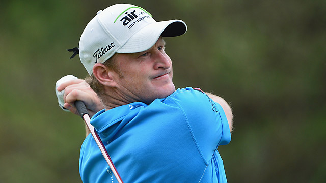 Jamie Donaldson shot a 66 in the second round.