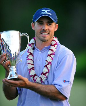Jonathan Byrd won his fifth career title Sunday at Kapalua.